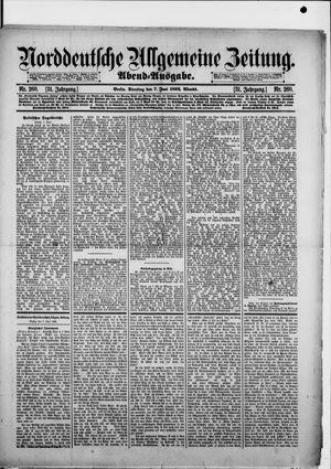 Norddeutsche allgemeine Zeitung vom 07.06.1892