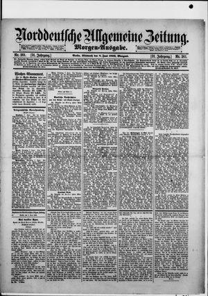 Norddeutsche allgemeine Zeitung vom 08.06.1892
