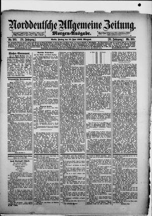 Norddeutsche allgemeine Zeitung vom 10.06.1892