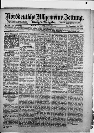 Norddeutsche allgemeine Zeitung vom 12.06.1892