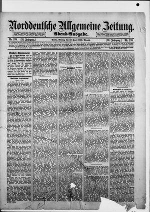 Norddeutsche allgemeine Zeitung vom 13.06.1892