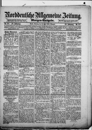 Norddeutsche allgemeine Zeitung vom 14.06.1892