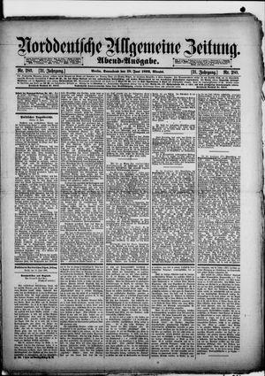 Norddeutsche allgemeine Zeitung vom 18.06.1892