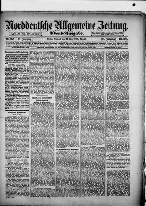 Norddeutsche allgemeine Zeitung vom 22.06.1892