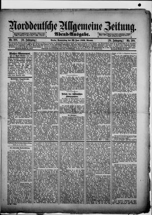 Norddeutsche allgemeine Zeitung vom 23.06.1892