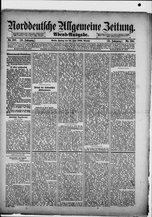 Norddeutsche allgemeine Zeitung vom 24.06.1892