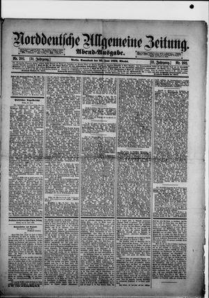 Norddeutsche allgemeine Zeitung vom 25.06.1892