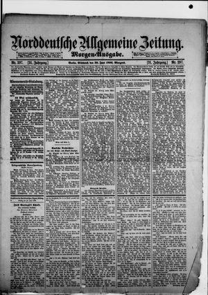 Norddeutsche allgemeine Zeitung vom 29.06.1892