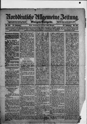 Norddeutsche allgemeine Zeitung vom 30.06.1892