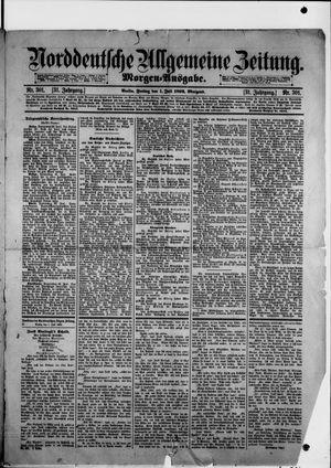 Norddeutsche allgemeine Zeitung vom 01.07.1892