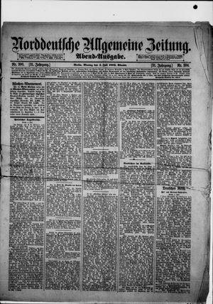 Norddeutsche allgemeine Zeitung on Jul 4, 1892