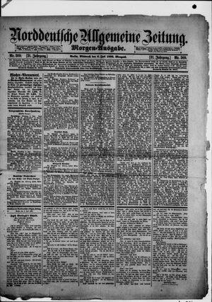 Norddeutsche allgemeine Zeitung vom 06.07.1892