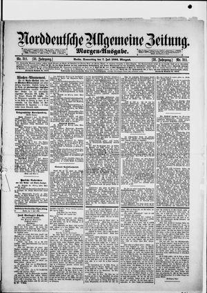 Norddeutsche allgemeine Zeitung vom 07.07.1892