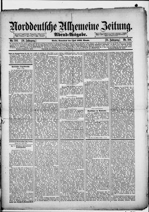 Norddeutsche allgemeine Zeitung vom 09.07.1892
