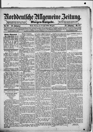 Norddeutsche allgemeine Zeitung vom 10.07.1892