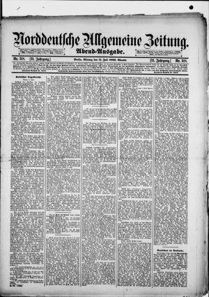 Norddeutsche allgemeine Zeitung vom 11.07.1892