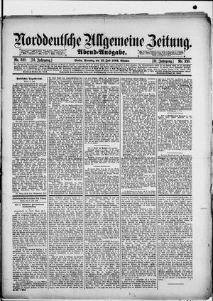 Norddeutsche allgemeine Zeitung vom 12.07.1892