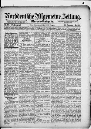 Norddeutsche allgemeine Zeitung vom 13.07.1892