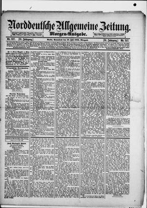 Norddeutsche allgemeine Zeitung vom 16.07.1892