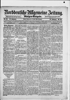 Norddeutsche allgemeine Zeitung vom 17.07.1892