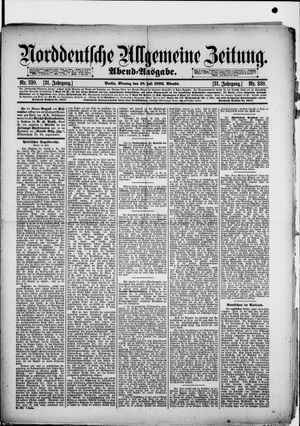 Norddeutsche allgemeine Zeitung vom 18.07.1892