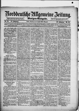 Norddeutsche allgemeine Zeitung vom 19.07.1892