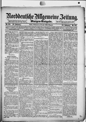 Norddeutsche allgemeine Zeitung vom 20.07.1892