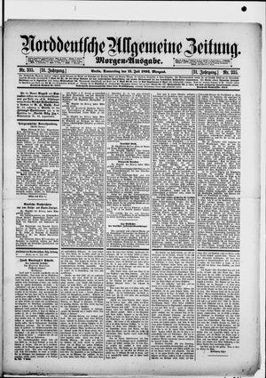 Norddeutsche allgemeine Zeitung vom 21.07.1892