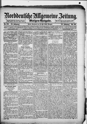 Norddeutsche allgemeine Zeitung vom 23.07.1892