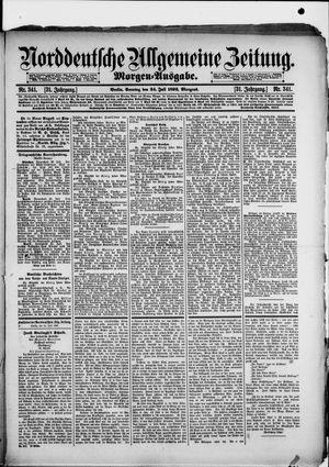 Norddeutsche allgemeine Zeitung vom 24.07.1892