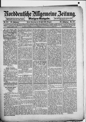 Norddeutsche allgemeine Zeitung vom 28.07.1892