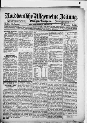 Norddeutsche allgemeine Zeitung vom 29.07.1892
