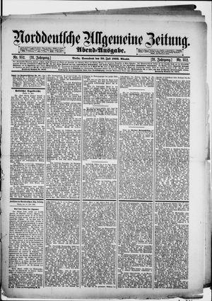 Norddeutsche allgemeine Zeitung vom 30.07.1892