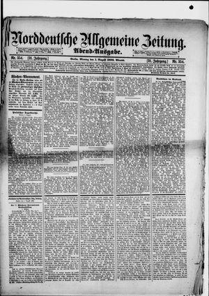 Norddeutsche allgemeine Zeitung vom 01.08.1892