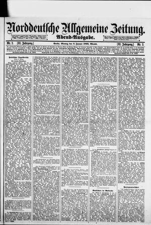 Norddeutsche allgemeine Zeitung vom 02.01.1893