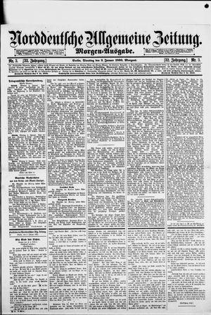 Norddeutsche allgemeine Zeitung vom 03.01.1893
