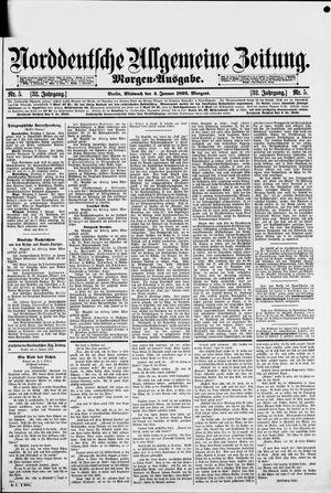Norddeutsche allgemeine Zeitung vom 04.01.1893