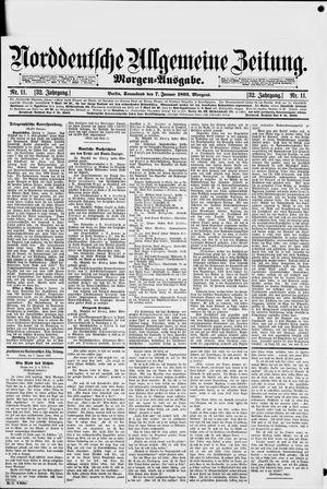 Norddeutsche allgemeine Zeitung on Jan 7, 1893