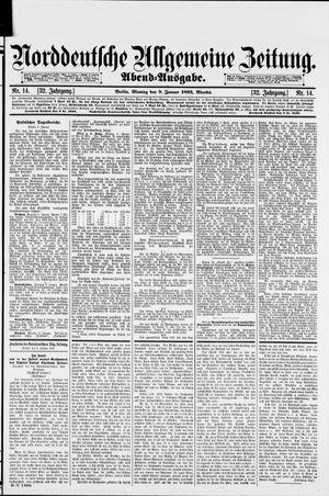 Norddeutsche allgemeine Zeitung vom 09.01.1893
