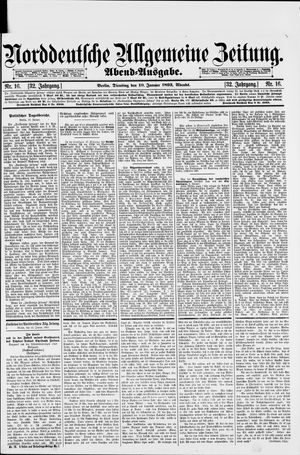 Norddeutsche allgemeine Zeitung vom 10.01.1893