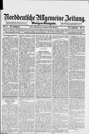 Norddeutsche allgemeine Zeitung vom 11.01.1893