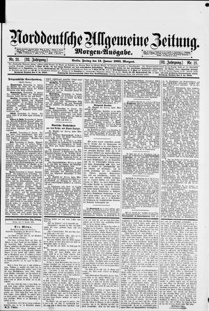 Norddeutsche allgemeine Zeitung vom 13.01.1893
