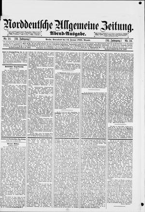 Norddeutsche allgemeine Zeitung on Jan 14, 1893