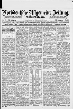 Norddeutsche allgemeine Zeitung vom 17.01.1893