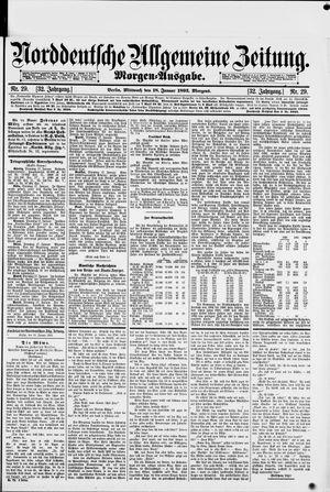 Norddeutsche allgemeine Zeitung vom 18.01.1893