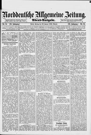 Norddeutsche allgemeine Zeitung vom 20.01.1893