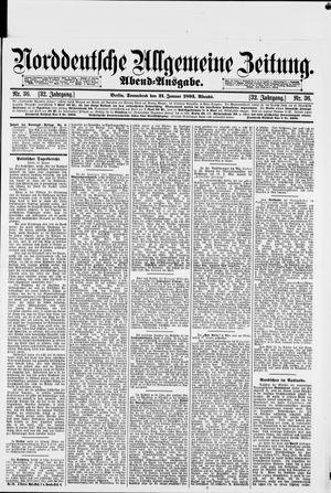 Norddeutsche allgemeine Zeitung vom 21.01.1893