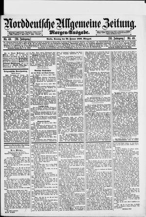 Norddeutsche allgemeine Zeitung vom 29.01.1893
