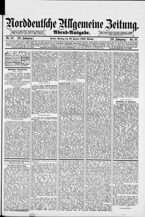 Norddeutsche allgemeine Zeitung vom 30.01.1893