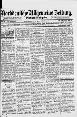 Norddeutsche allgemeine Zeitung vom 31.01.1893